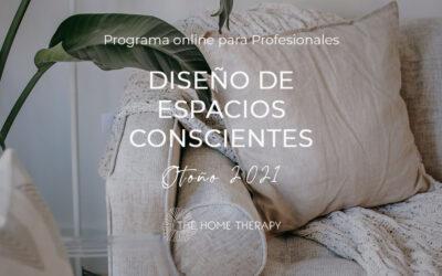 Programa DISEÑO DE ESPACIOS CONSCIENTES Otoño 2021